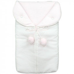 Baby Pink Pompon Sleep Sack