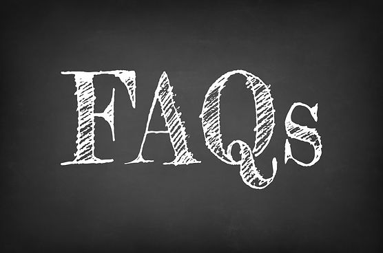 FAQs - Frequently Asked Questions text o