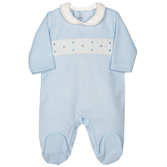 Baby Boy Embroidered PJ
