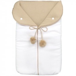Camel Pompon Sleep Sack