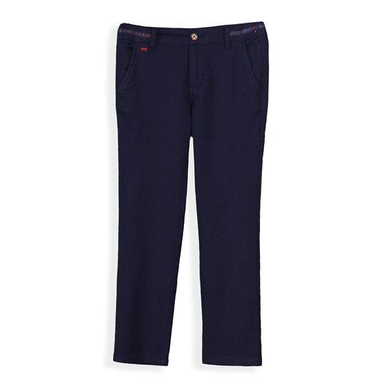 Navy Pique Pants
