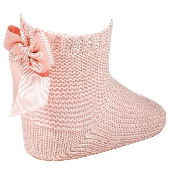 Shorty Back Bow Sock