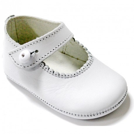 White Mary Jane Shoes