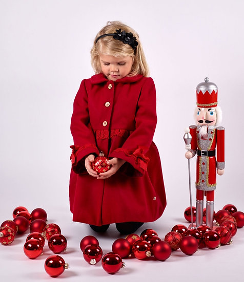 Flouncy Red Coat