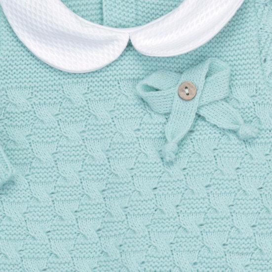 Sea Foam Knitted Braid Set