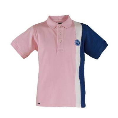 Pink and Blue Polo