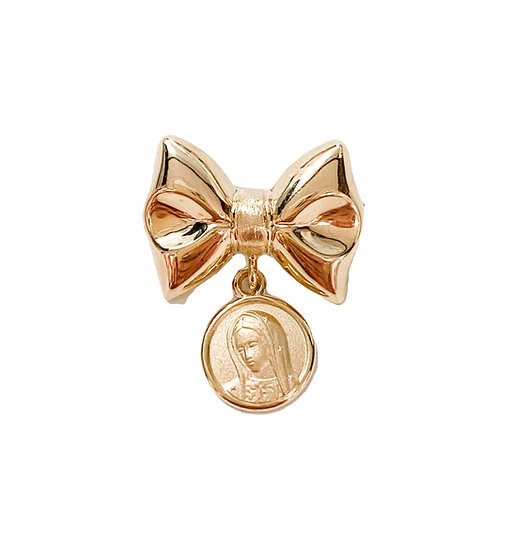 Our Lady Bow Pin