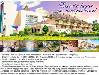 ABERSSESC promove passeio de lazer para o Thermas Piratuba Park Hotel