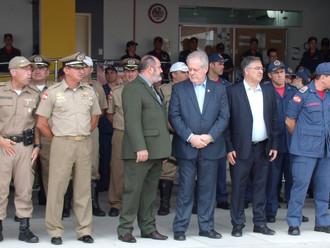 Presidente da ABERSSESC participa da solenidade de lançamento da Operação Veraneio 2017/2018