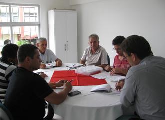 Diretoria se reúne e debate melhorias e planejamento para este ano