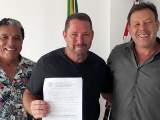 3º sargento Daniel Fernando Damázio é o novo sócio da ABERSSESC