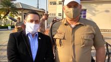 Vice-presidente da ABERSSESC prestigiou a solenidade de promoção de 226 policiais militares