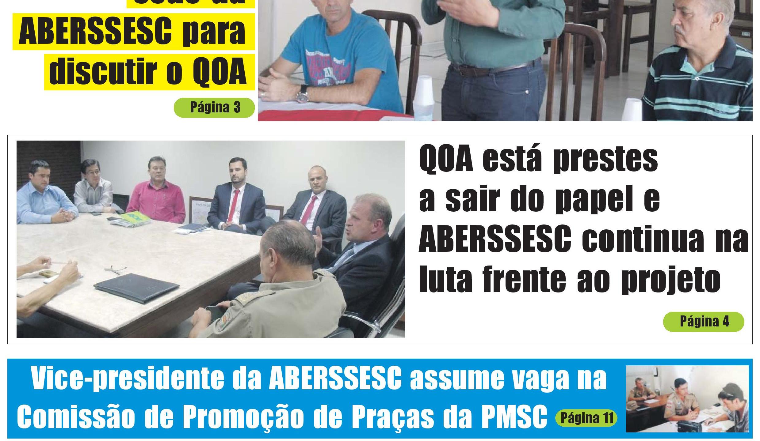 Capa Informativo ABERSSESC Ed. 2