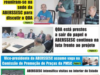 2ª edição do Jornal da ABERSSESC já está disponível