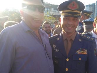 Presidente da ABERSSESC prestigia solenidade de promoção de oficiais e praças da PM e CBM