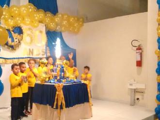 Salão principal da ABERSSESC é palco da comemoração de aniversário da LBV de Florianópolis
