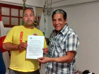 Sargento do Corpo de Bombeiros de SC, Cristóvão Martins Werner é o novo sócio da ABERSSESC