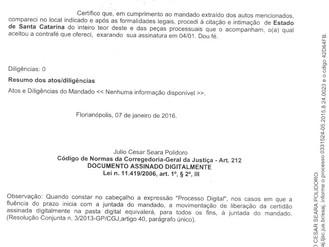 Estado é notificado a cumprir determinação judicial e pagar Iresa aos associados da ABERSSESC