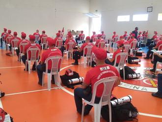 Alunos do Curso de Formação de Soldados do CBM conhecem o trabalho da ABERSSESC
