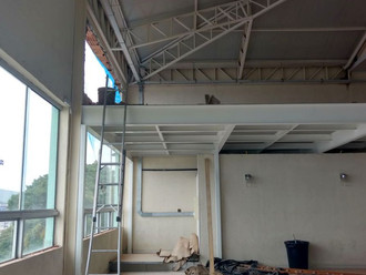 Mezanino, no salão principal da ABERSSESC, será inaugurado no Réveillon 2018