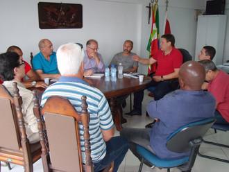 Reunião na ABERSSESC com quatro associações militares discute representação nas próximas eleições