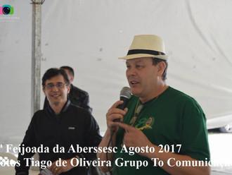 Mais de 300 pessoas participam da 3ª Feijoada da ABERSSESC
