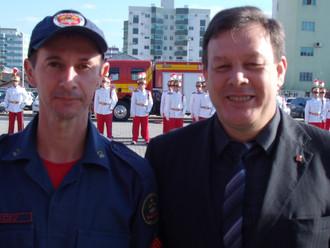 Solenidade de promoção de oficiais e praças marca os 14 anos de independência do Corpo de Bombeiros