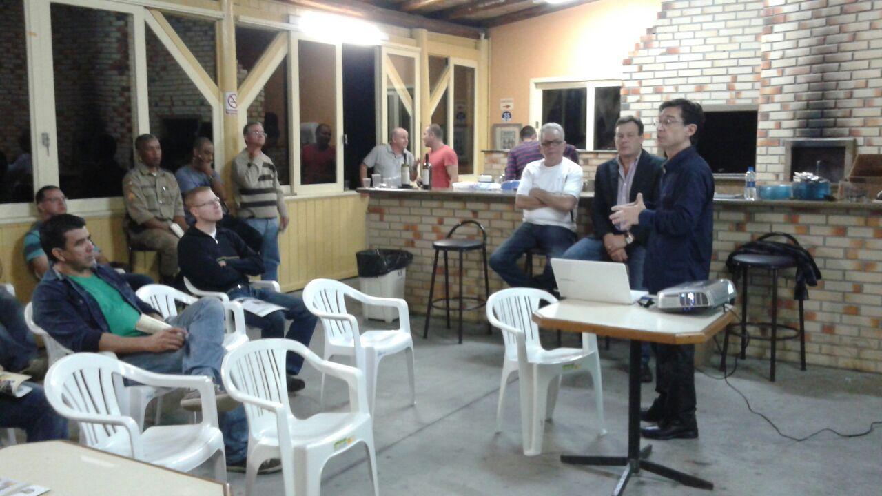 Reunião em Blumenau