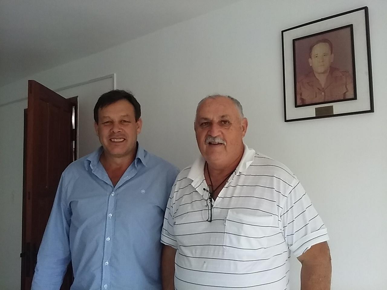 Flavio Hamann e Celestino Pagani