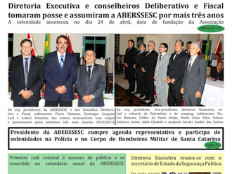 Posse da Diretoria Executiva, bem como Conselhos Deliberativo e Fiscal é destaque na 6ª edição do Jo