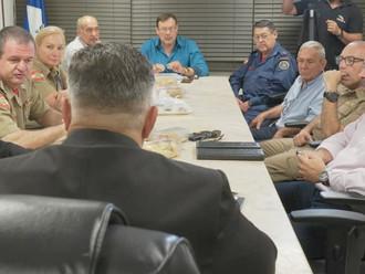 Presidentes de e entidades representativas dos militares estaduais reúnem-se com deputados estaduais