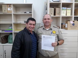 ABERSSESC tem dois novos associados: o sargento Jonata Filipe Simão e o subtenente RR Valério João D