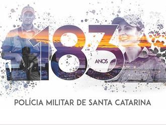 Polícia Militar de Santa Catarina completa 183 anos de criação com vasta programação