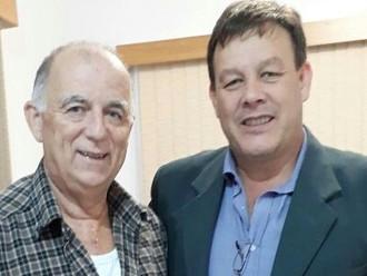 Presidente da ABERSSESC visita o subtenente Nelson José de Souza