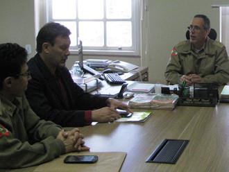 ABERSSESC se reúne com Estado Maior-Geral para debater o projeto do plano de carreira dos cabos