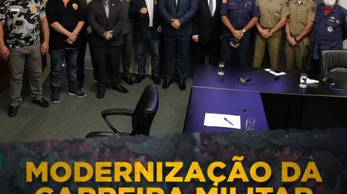 Presidente da ABERSSESC participa da comissão mista do Plano de Carreira dos militares