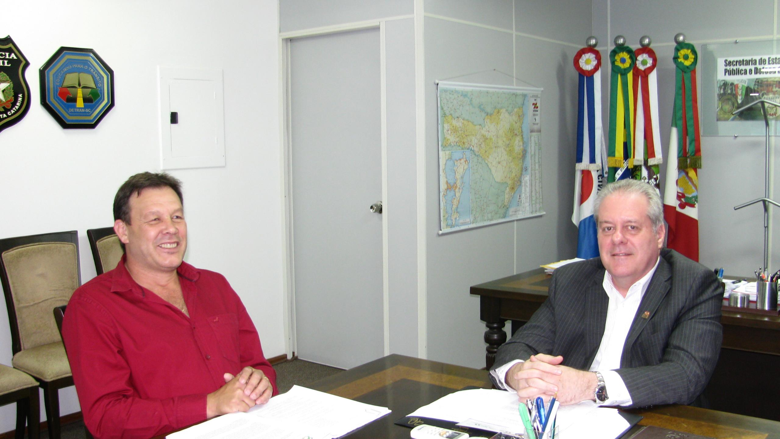 Flavio Hamann e César Grubba