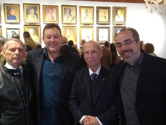 Presidente da ABERSSESC prestigia solenidade de reinauguração do Salão Nobre do QCG