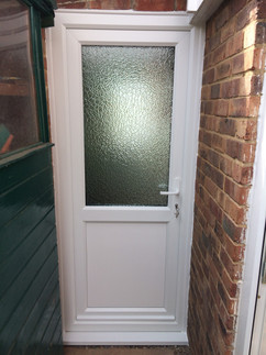 Slough, Granny Annexe PVCu (Back) Door - Outside