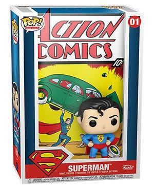 Pre-Order Pop! Vinyl Comic Cover DC Superman Action Comic