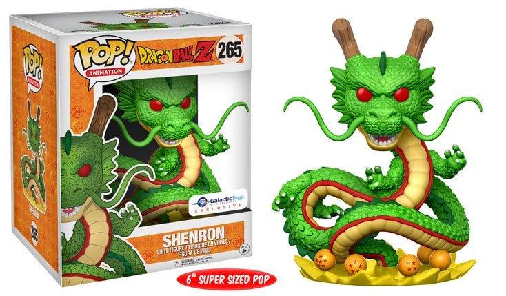 "Pop! DBZ Shenron Galactic Toys 6"""