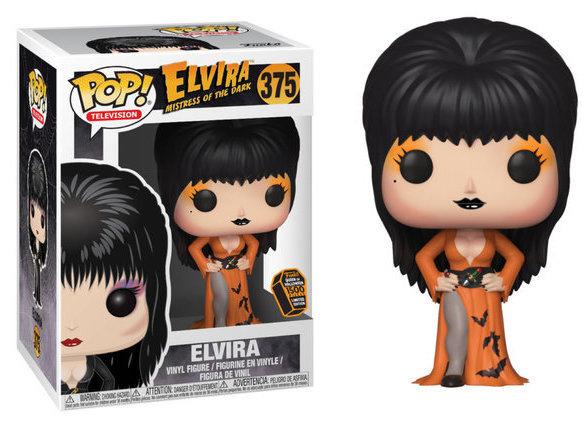 Pop! Elvira Mistress of the Dark (Orange Dress)