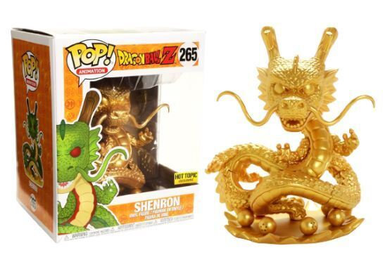 Pop! DBZ Shenron (Golden) Hot Topic 6""