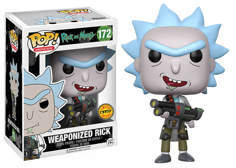 Pop! Weaponized Rick Chase