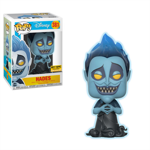 Pop! Hades Hot Topic Glow in the Dark