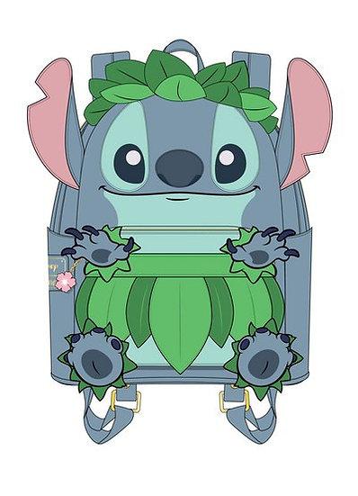 Pre-Order Loungefly Stitch Luau Cosplay Mini Backpack