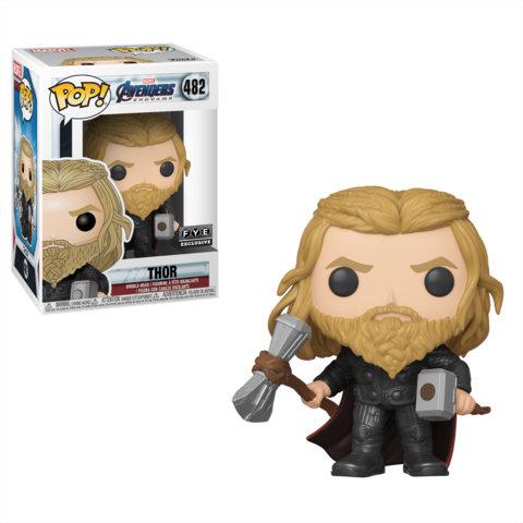 Pop! Marvel Thor with Mjolnir and Stormbreaker FYE