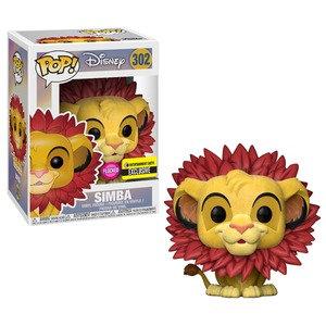 Pop! Simba Entertainment Earth Flocked