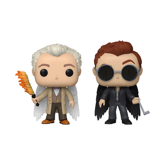 Pre-Order Pop! Good Omens Two Pack Aziraphale and Crowley