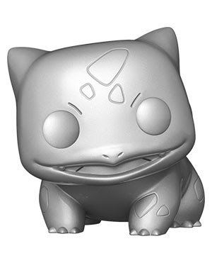 Pre-Order Pop! Pokemon Bulbasaur Metallic